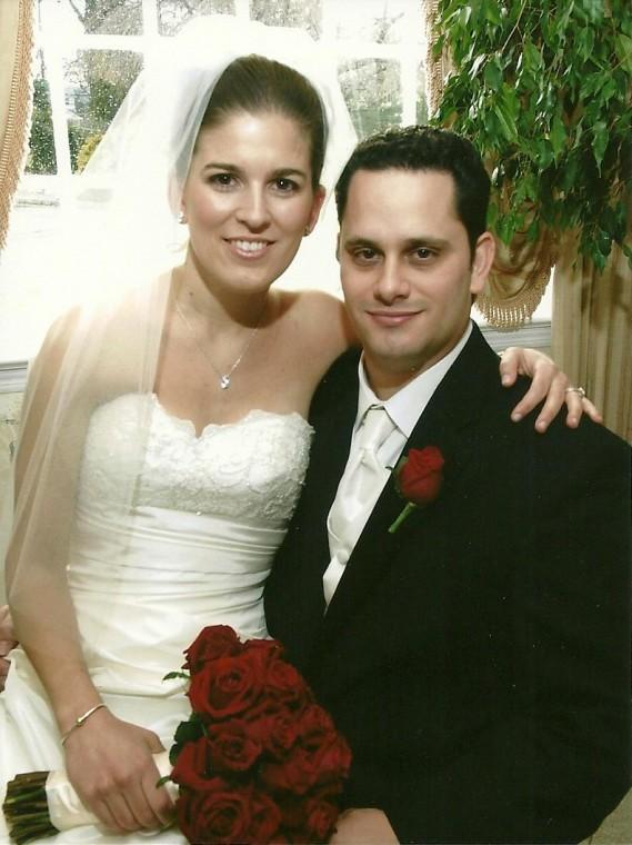 Lisa Everett and Joseph DeLaura are married