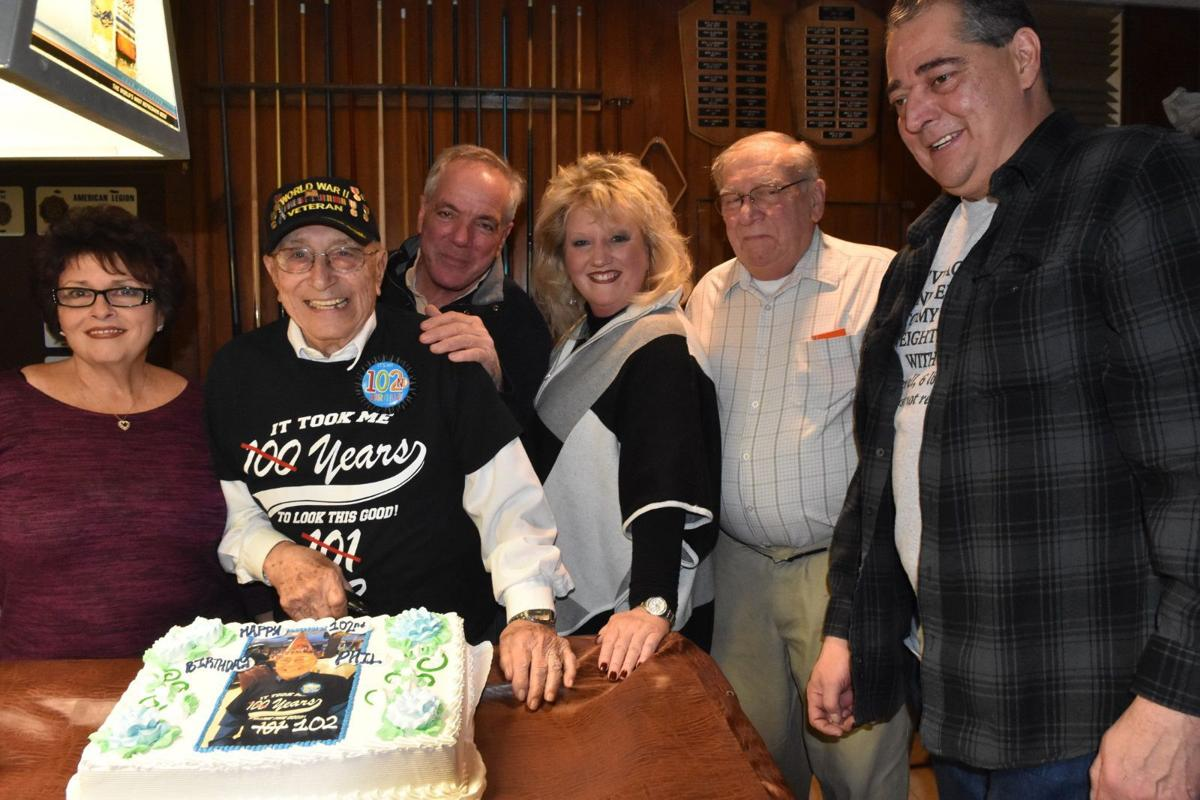 Warren American Legion throws 102nd birthday party for Sapienza