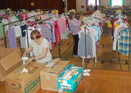 Spring children's clothing sale