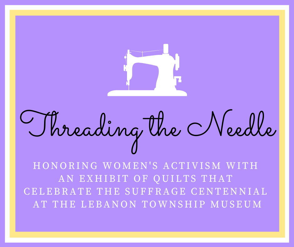 Lebanon Township Museum hosts 'Movies in March' honoring women's suffrage