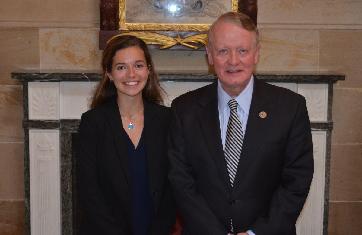 Mount Saint Mary grad completes internship on Capitol Hill