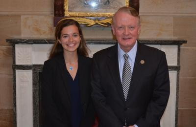 Mount Saint Mary grad completes internship on Capitol Hill