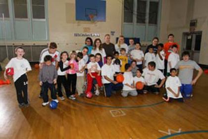 A Teen Helping Children - High school junior Matthew Certner starts sports clinic for district children 5 to 14 with special needs