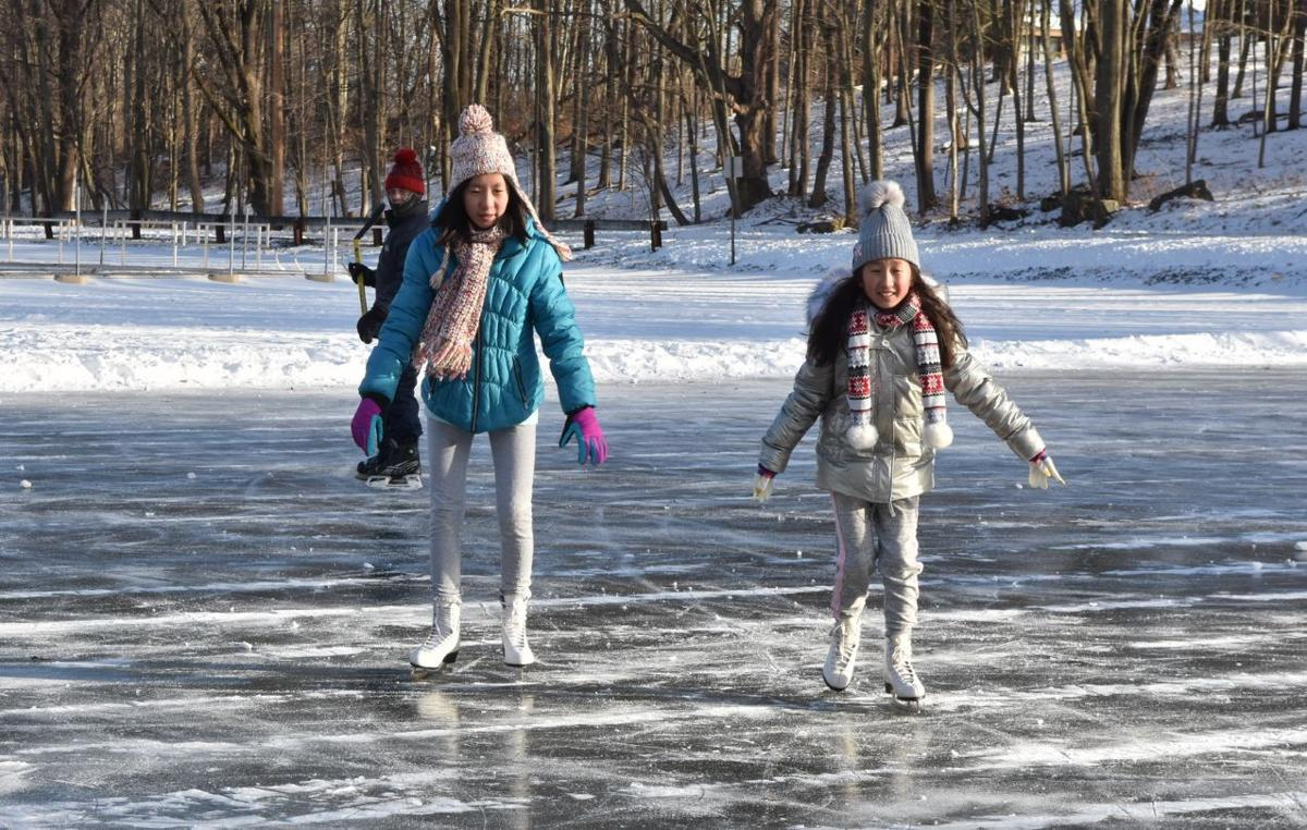 Frosty fun can be had outdoors in winter