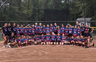 Long Hill softball camp