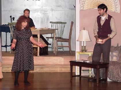 """""""The Glass Menagerie"""" at the Chatham United Methodist Church"""
