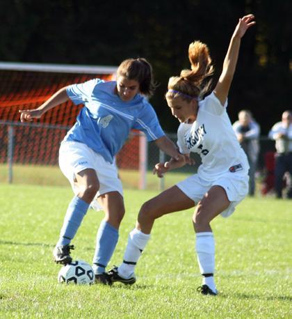 Roxbury girls soccer team rolls on