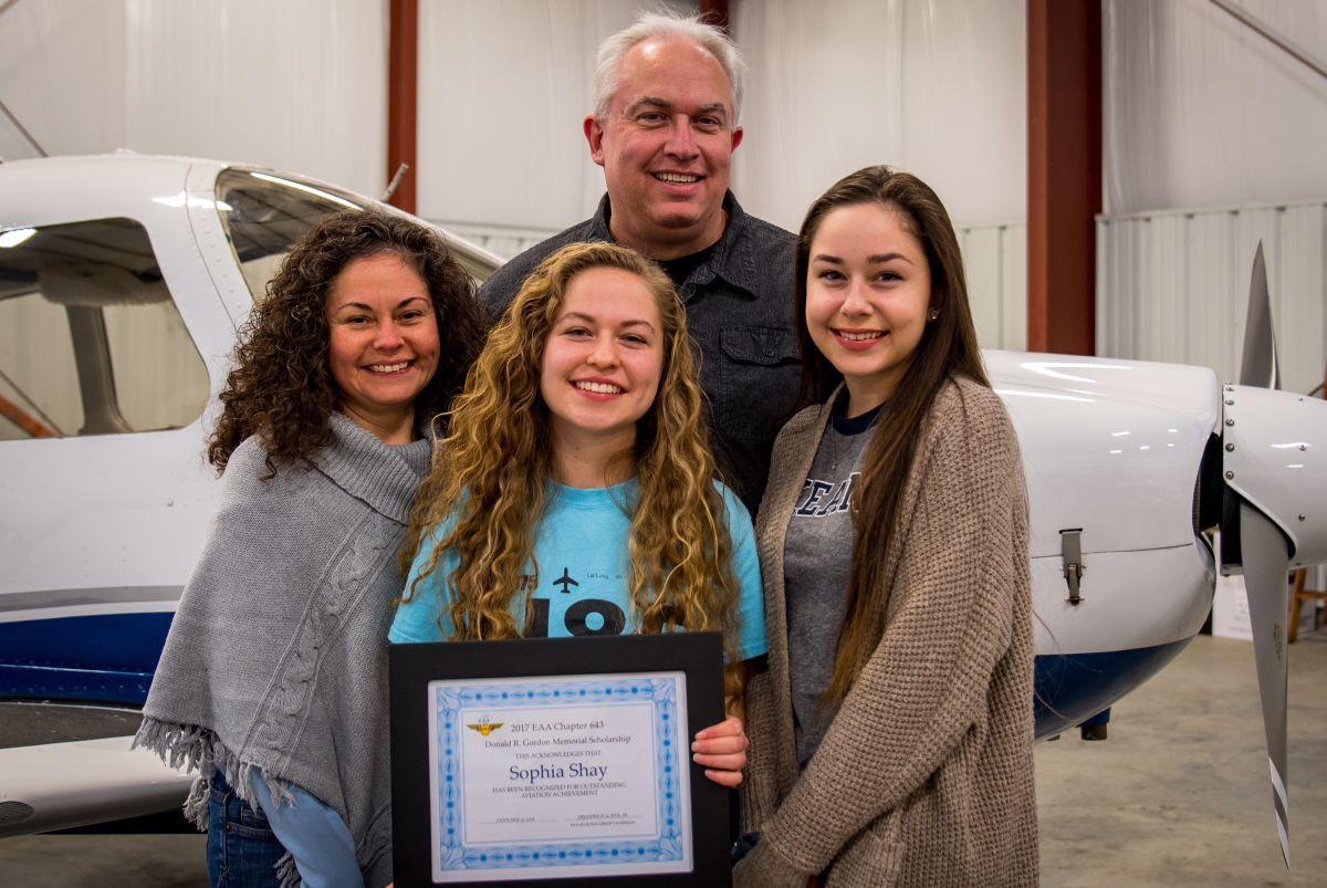 North Hunterdon girl, 16, wins aviation scholarship