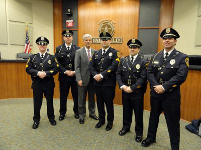Police promote five in Fairfield | The Progress News
