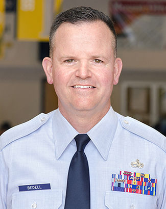Chief Master Sgt. Robert Bedell