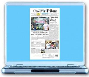 Observer-Tribune in your inbox