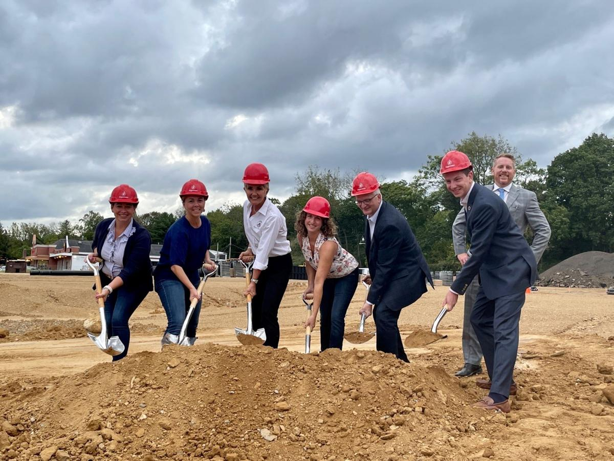 Clinton breaks ground on major redevelopment at former A&P site