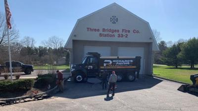 Three Bridges Volunteer Fire launch GoFundMe to pay for driveway sinkhole emergency repairs