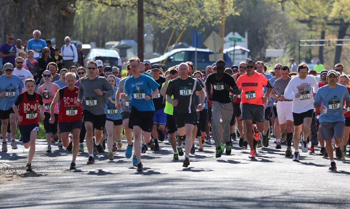 Lebanon's 'We Shall Over-Run' 5K, 1-mile walk to benefit Hunterdon Hospice