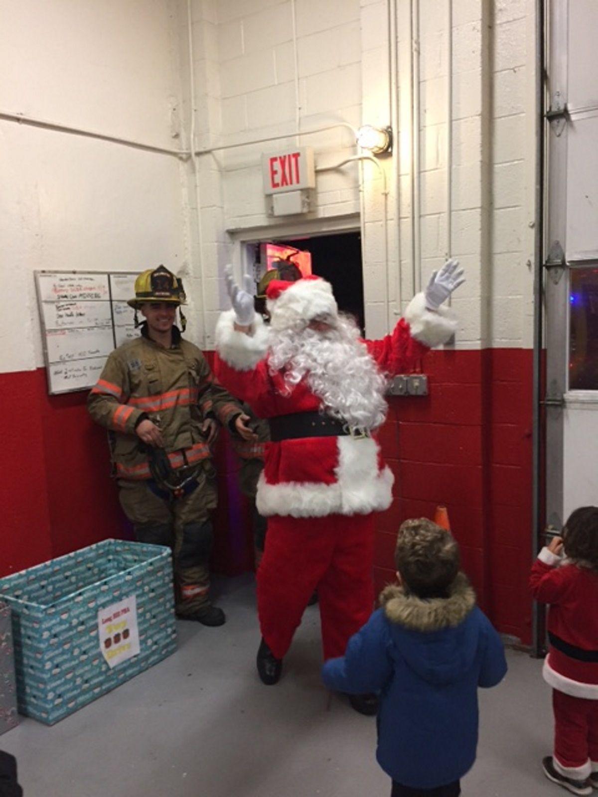 Santa comes to Millington Dec. 14 and 15