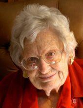 Ella Margaret Haver, 104, president of Jennie Haver Scholarship Fund
