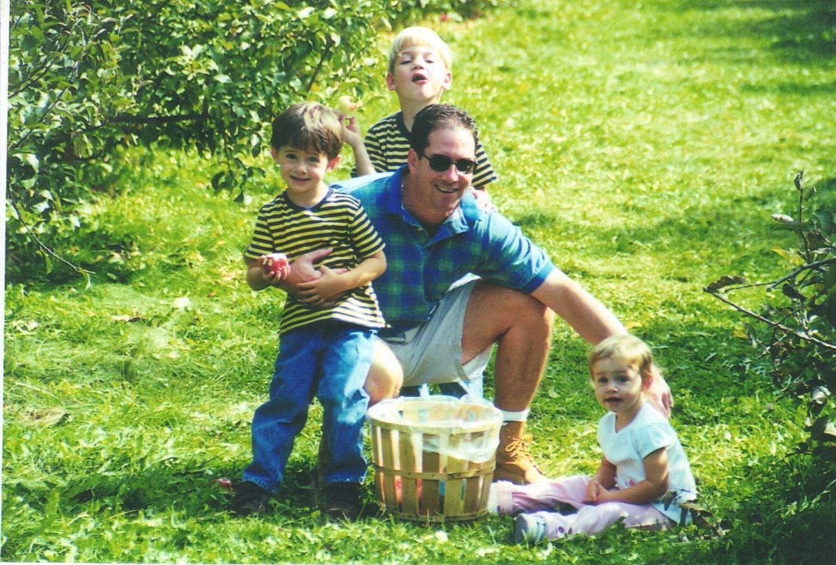 Salamone children and their dad