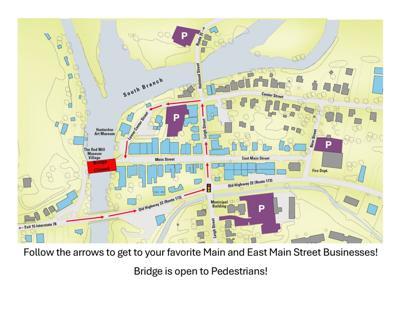 UPDATE: Clinton's Main Street bridge to remain closed to vehicles, pedestrian walkway open