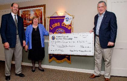 Lions support Warren schools