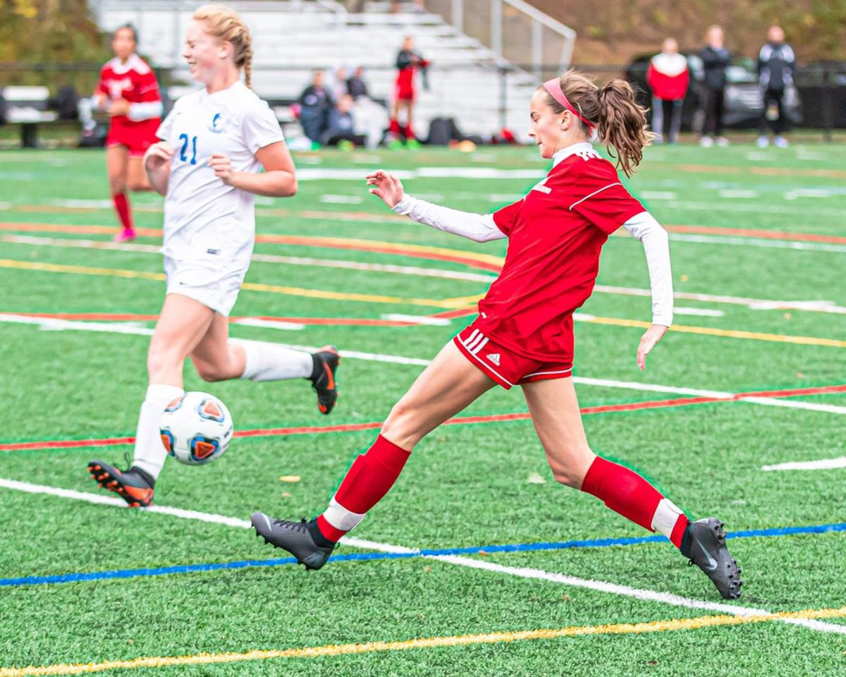 Bernards Ella Bogdan girls soccer