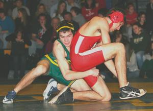 High School Wrestling Rivalry—Coaches, wrestlers square off