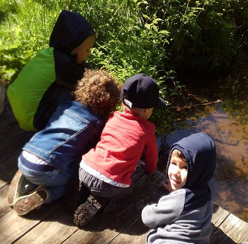 Explore nature with your little one!