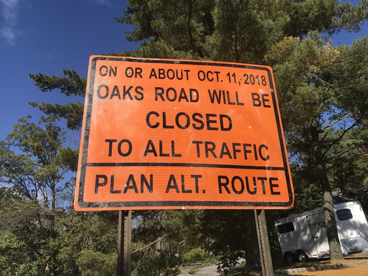 Oaks Road residents sue Long Hill over planned paving project
