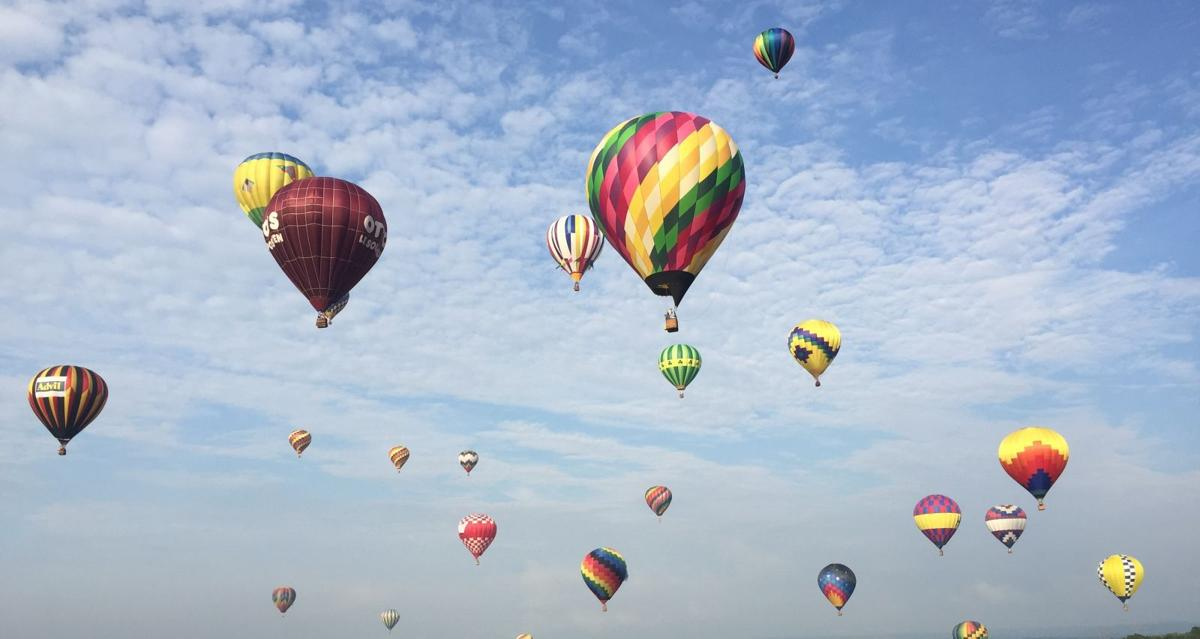 Balloon festival celebrates 35 years of family fun at Solberg Airport