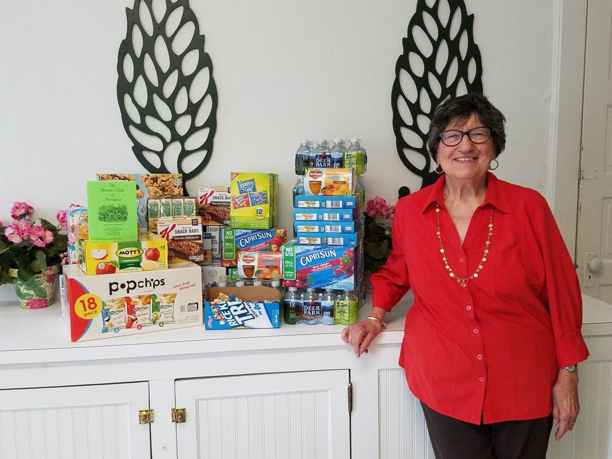 Woman's Club of Morristown donates supplies to child abuse victims