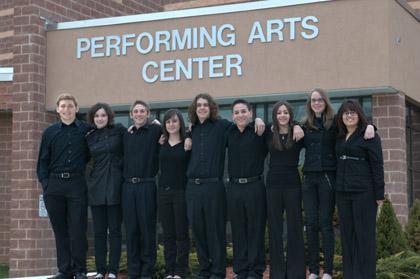 Breuer headlines for Mount Olive High School Percussion Ensemble