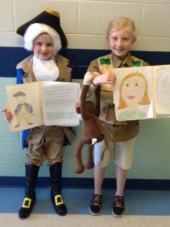 Biography Day at Central School