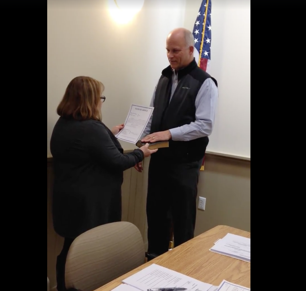 Califon has two new councilmen, discusses upcoming centennial celebration