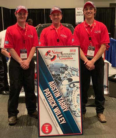 Polytech team takes second in national auto tech competition