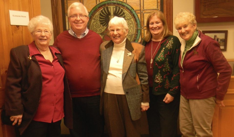 Members of the Watchung Historical Society