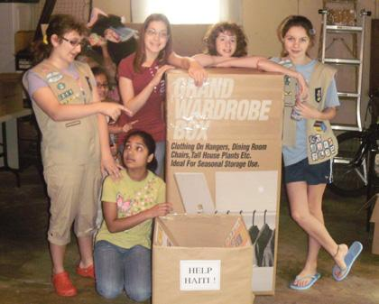 Long Hill Silver Girl scout project seeks shelter supplies