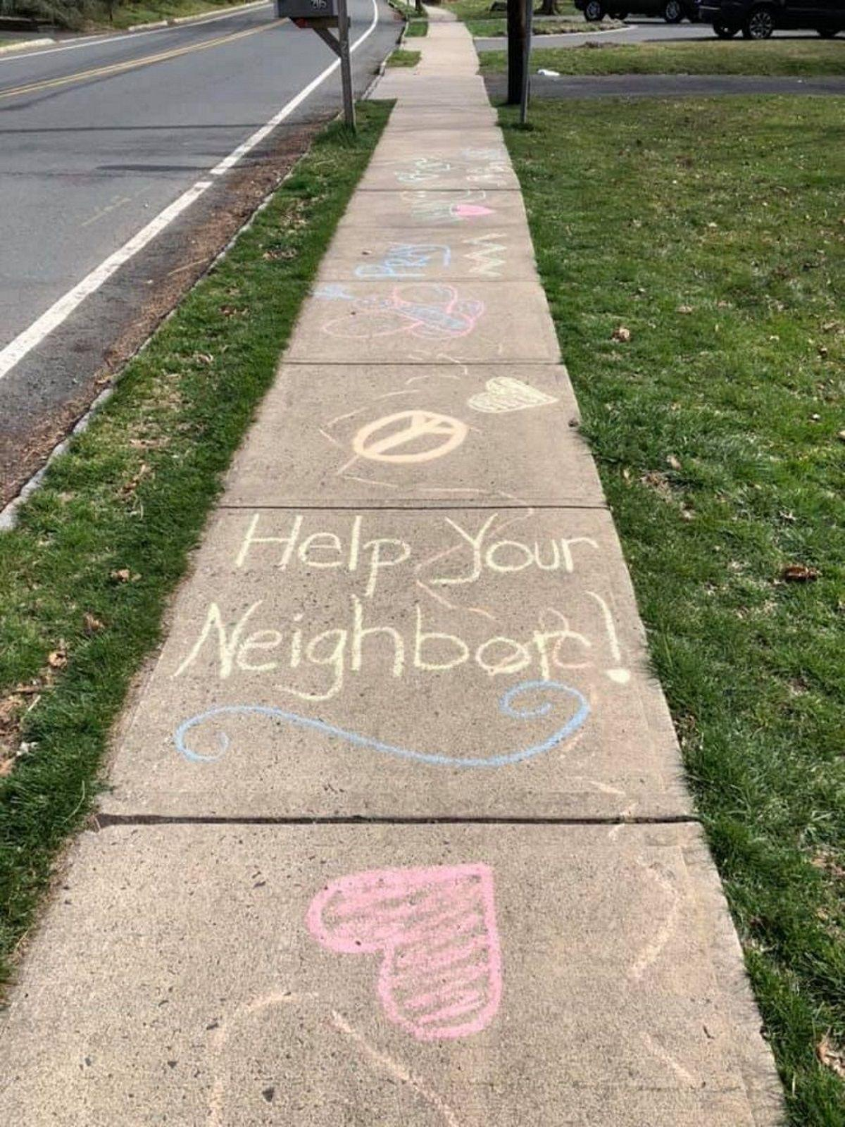 'Help your neighbor!'