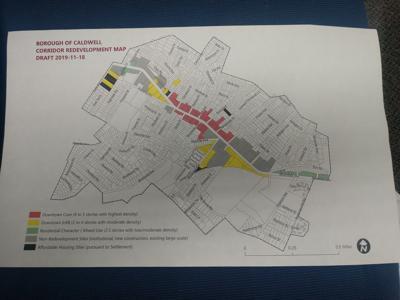 Corridor map