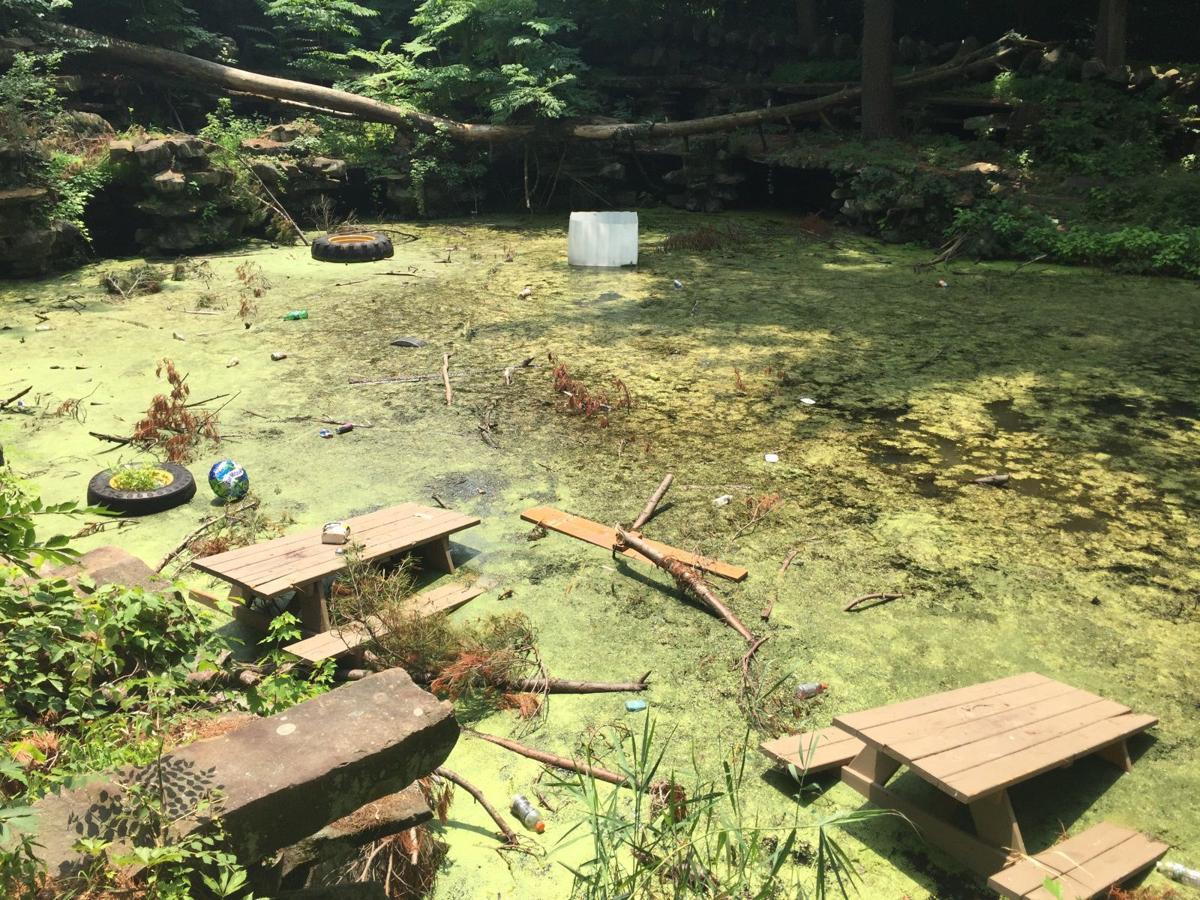 Vandalism, neglect of Hofheimer Grotto a concern in Warren