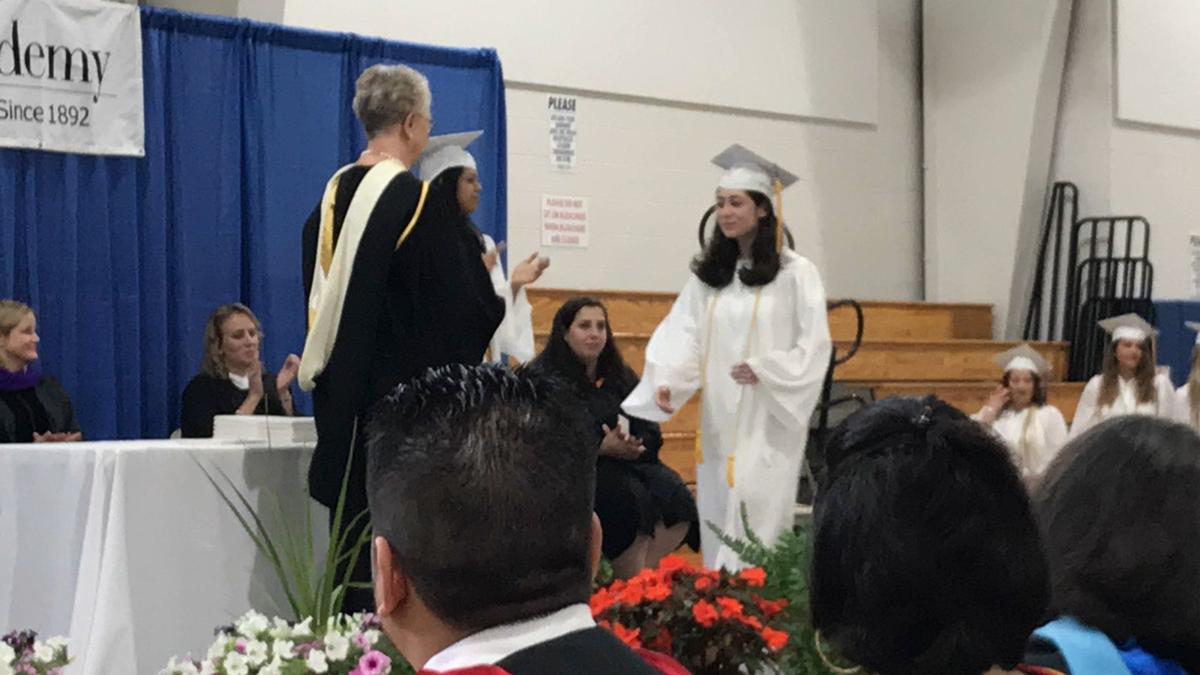 Conferring diplomas