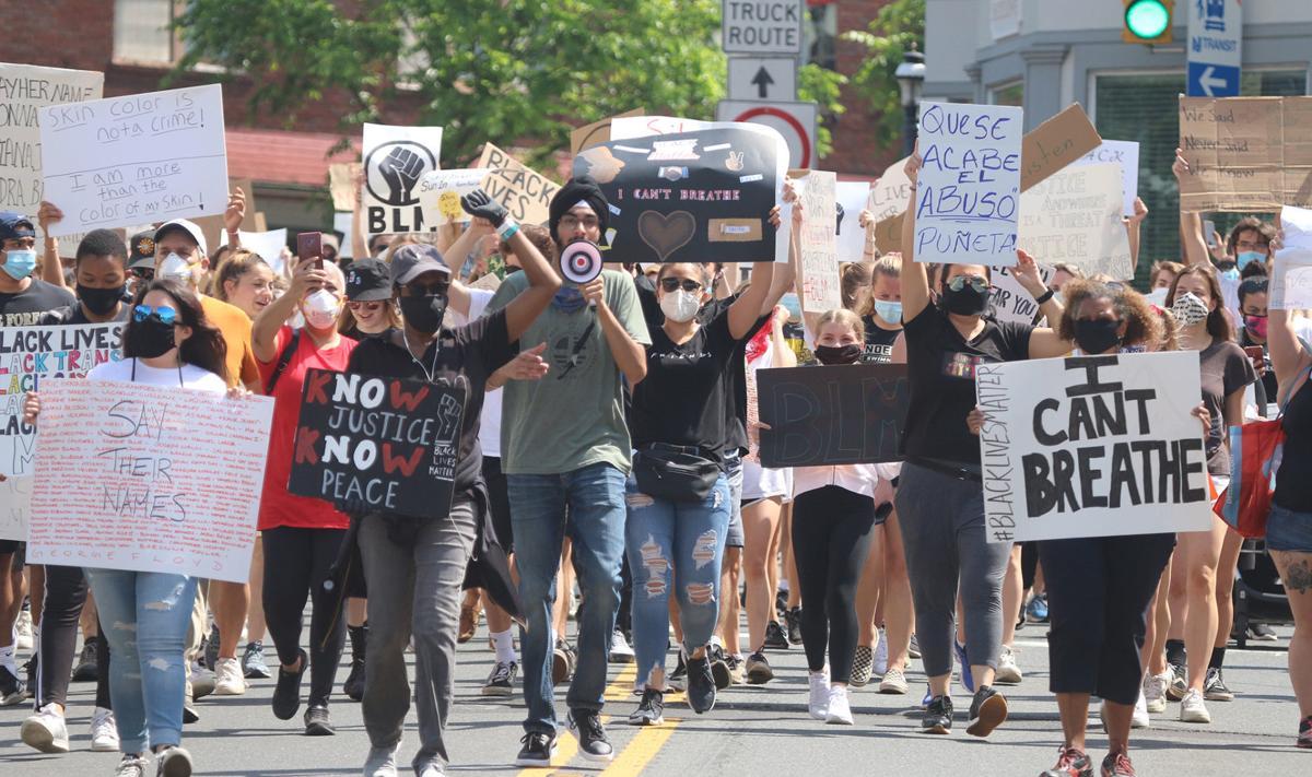 Bernardsville Protest