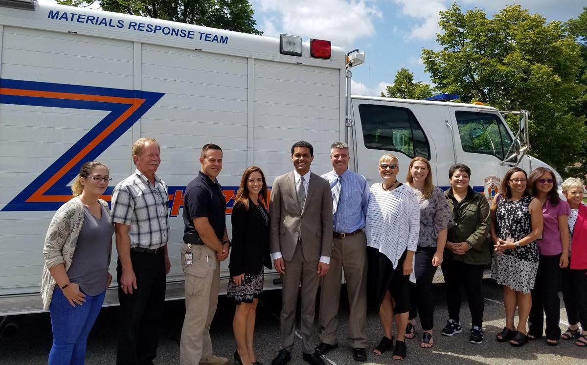 State health commissioner visits Hunterdon County's health professionals
