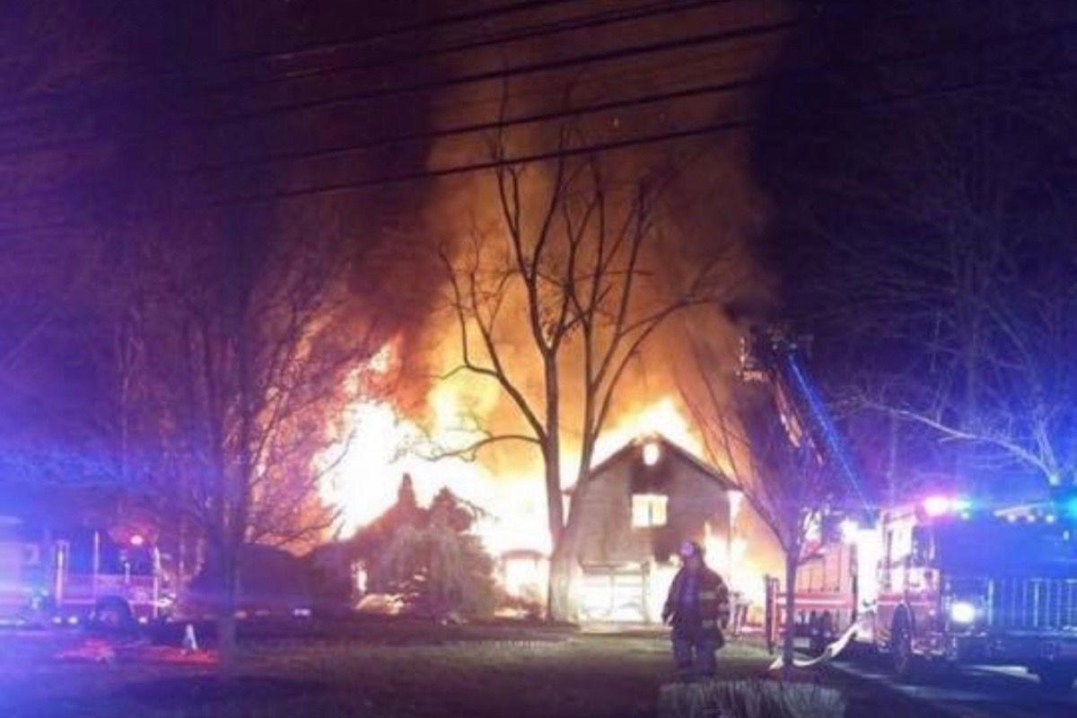 Warren house fire