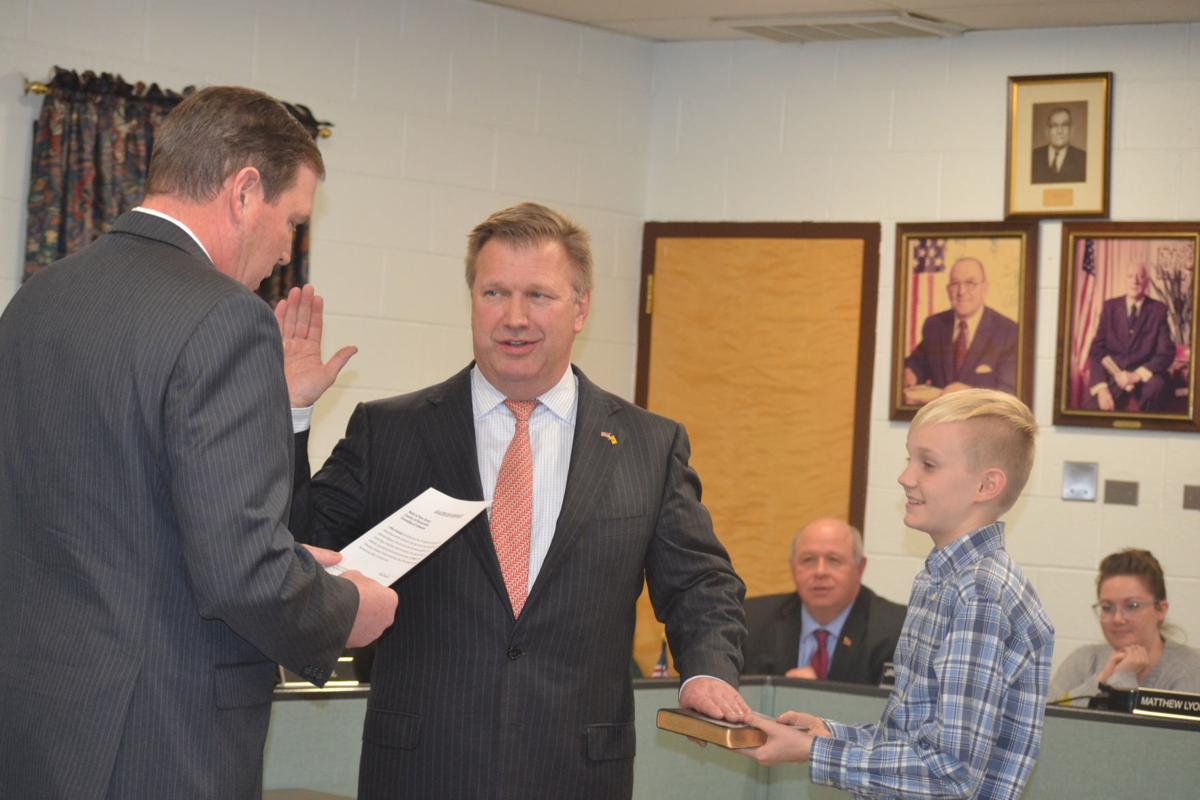 Lebanon Township swears in new police chief