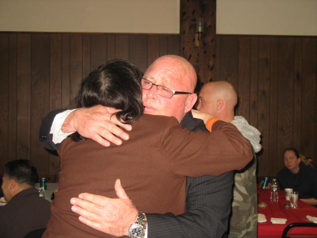Council candidate Joseph Cifelli celebrates victory in Fairfield