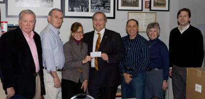 Rotary Supports Gene Collerd Photo Preservation Project