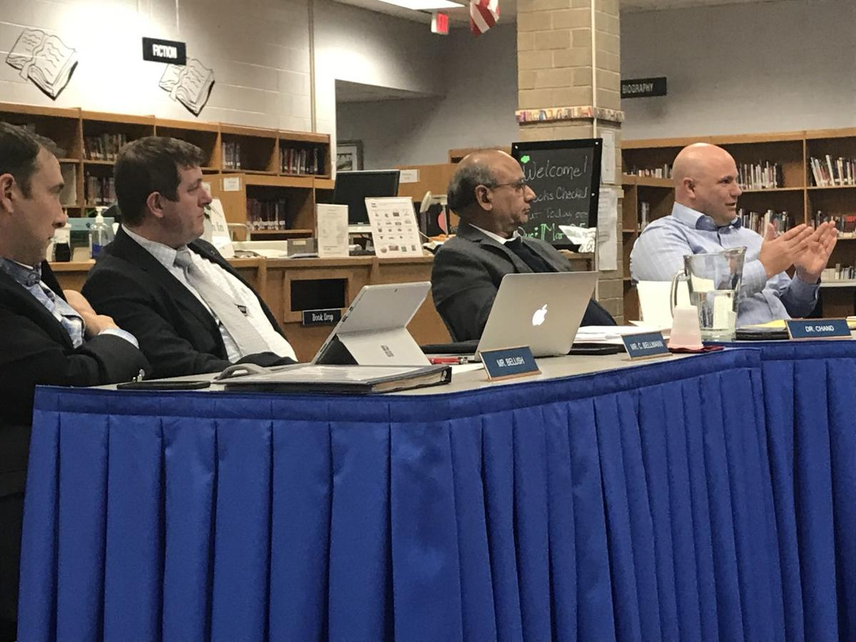 Franco makes budget pitch in Warren