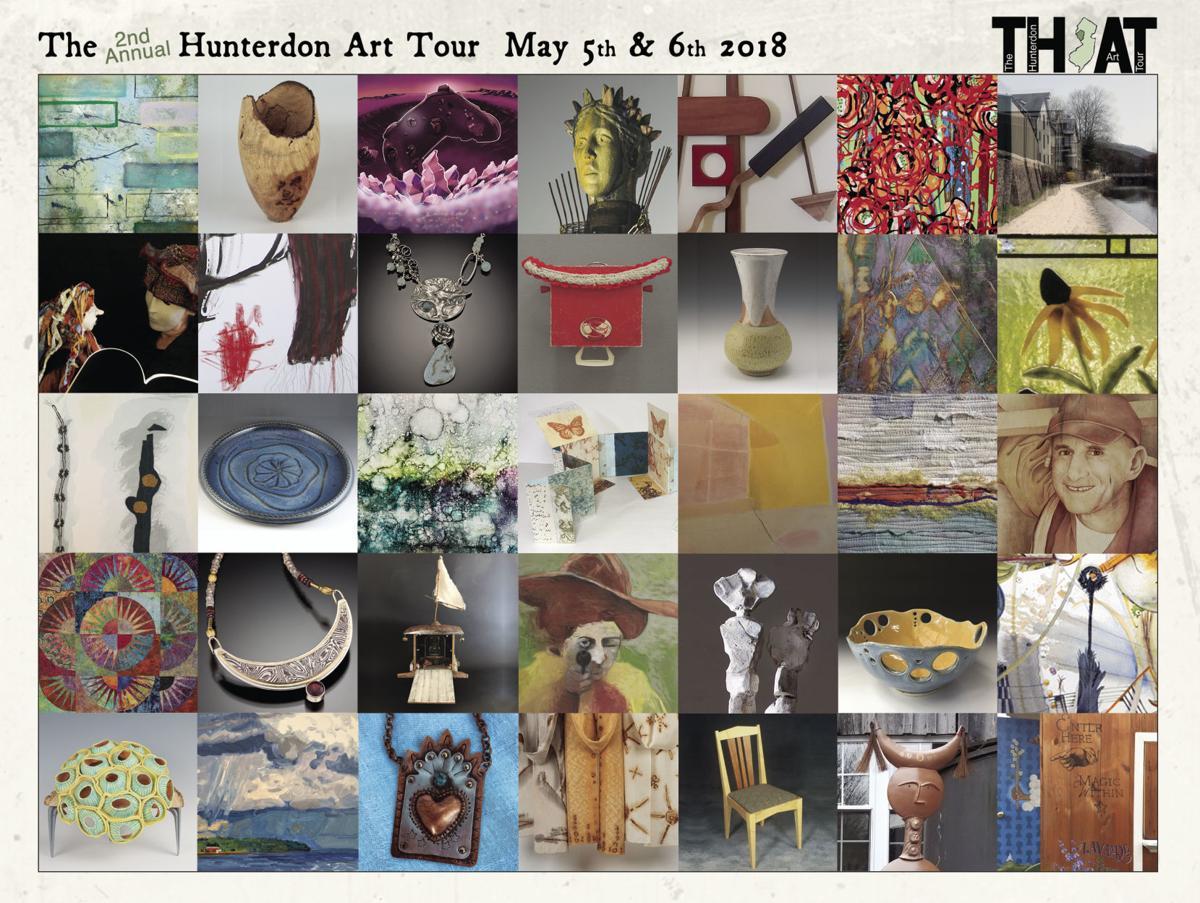 Hunterdon Art Tour kicks off on Friday, May 4, in Clinton