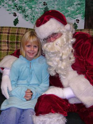 Holiday event features crafts, carriage rides and Santa Claus