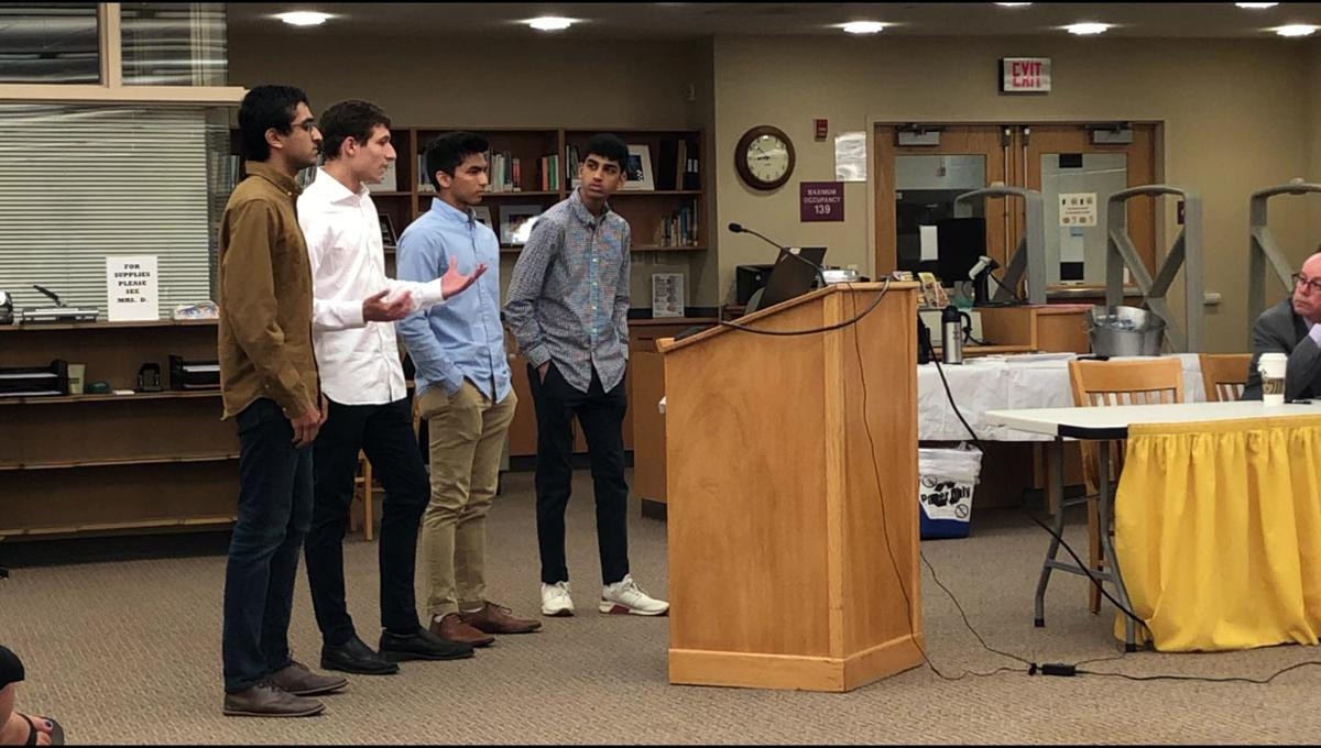 SharedSchool members pitch partnership ideas to Watchung Hills school board