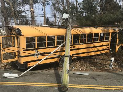 Long Hill students unharmed after bus crash; power out in neighboring towns